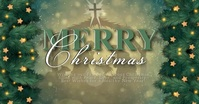 MERRY CHRISTMAS ONLINE TEMPLATE รูปภาพที่แบ่งปันบน Facebook