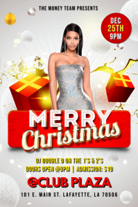 MERRY CHRISTMAS PARTY CLUB FLYER TEMPLATE
