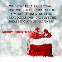 MERRY CHRISTMAS QUOTE TEMPLATE Сообщение Instagram