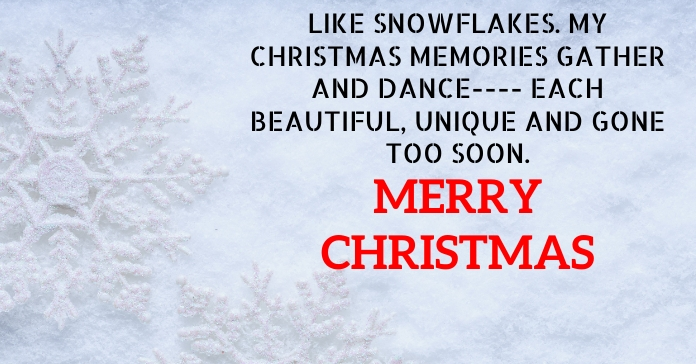 MERRY CHRISTMAS QUOTE TEMPLATE Iklan Facebook