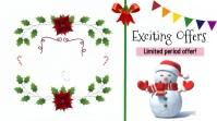 Merry Christmas Sale Digital Display (16:9) template
