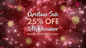 Merry Christmas Sale Digital Template