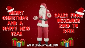 Merry Christmas Sales Digital Template
