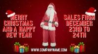 Merry Christmas Sales Digital Template
