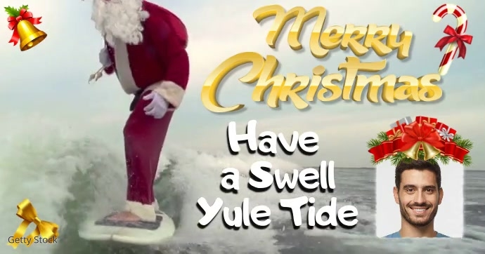 Merry Christmas Surfers Video