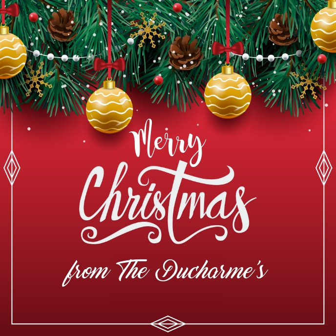 MERRY CHRISTMAS TEMPLATE 2019 Copertina album