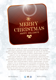 Merry Christmas Template A4