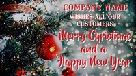 Merry Christmas to Our Customers Video