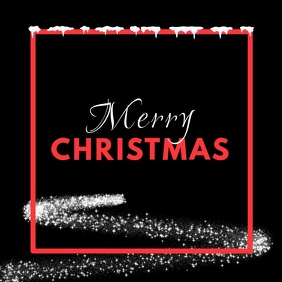Merry Christmas Video Greeting Card Tree