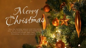 Merry Christmas Video Greeting Card Wishes