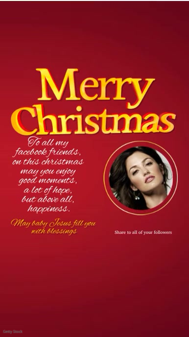 Merry Christmas Video Greeting