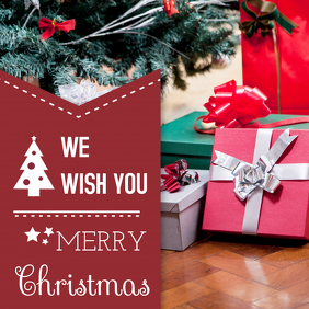 Merry Christmas Wish Card Online Design