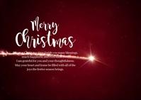 Merry Christmas Wish New Year Greeting Video Ikhadi leposi template