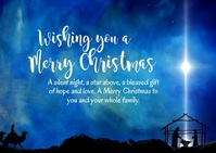 merry christmas wishes greeting card message Открытка template