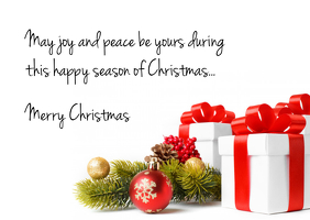 merry christmas wishes greeting card postcard