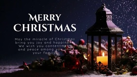 Merry Christmas Wishes Message Video Canlde