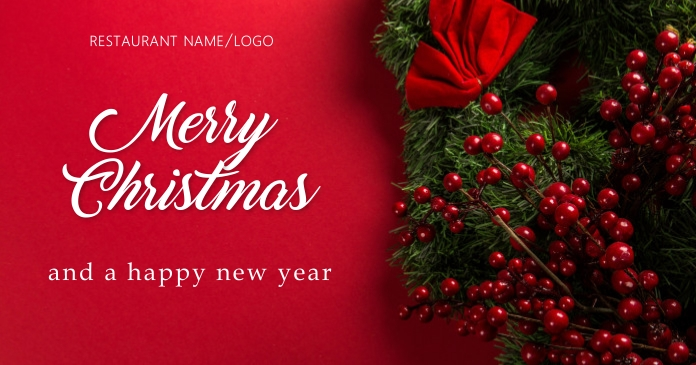 Merrychristmas Facebook Shared Image template