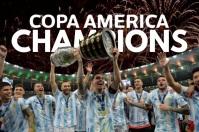 Messi Copa America Post Template Poster