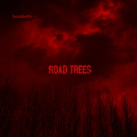 Metal Rock Forest Red Music CD Cover Art Okładka albumu template