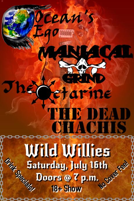 Metal Show Flyer
