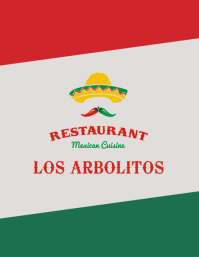 mexican food menu front 1