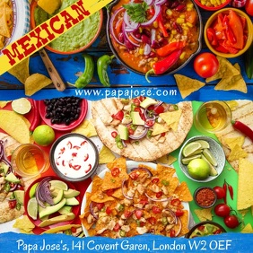 Mexican Food Video Ad Template
