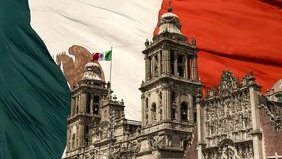 Mexico Flag Video Template