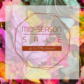 Mid-Season sale flyer