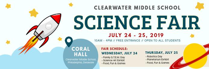 Middle School Science Fair Template