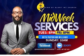 MIDWEEK SERVICE FLYER