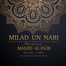 Milad un Nabi, eid milad un nabi template