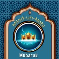 Milad-un-Nabi Pos Instagram template