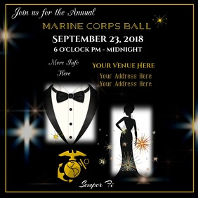 Military Ball Digital Ad