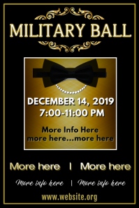 Military Ball Poster