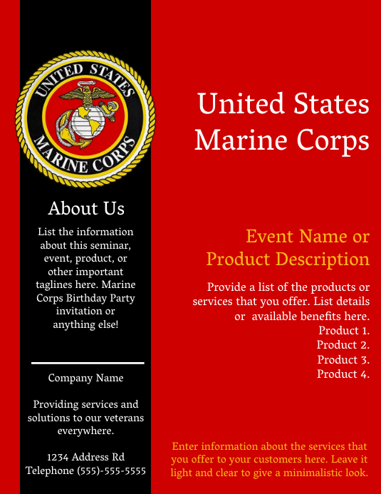 Military Information - Marine Corps