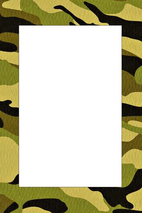 Military Party Prop Frame Template | PosterMyWall