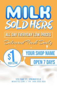 Milk Retail Poster