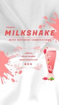 Milkshake Poster