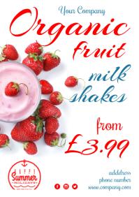 Milkshakes Special Poster