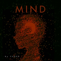 Mind Leaves CD Cover Music template