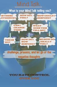 mind talk poster