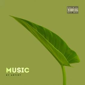 Minimal Album Cover template