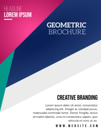 MINIMAL BROCHURE TEMPLATE Flyer (US Letter)