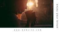 minimal coffee ad Рекламное объявление Facebook template