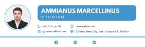 minimal corporate modern email signature desi template