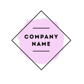Minimal geometric logo