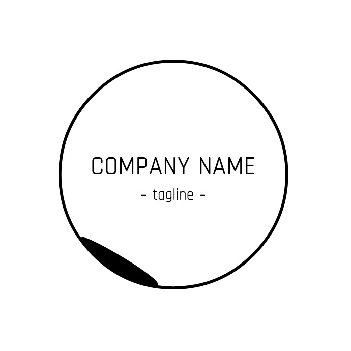 Minimal luxury logo