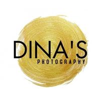 Minimal Photography Logo Gold Circular template