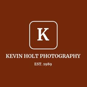 Minimal signature logo template