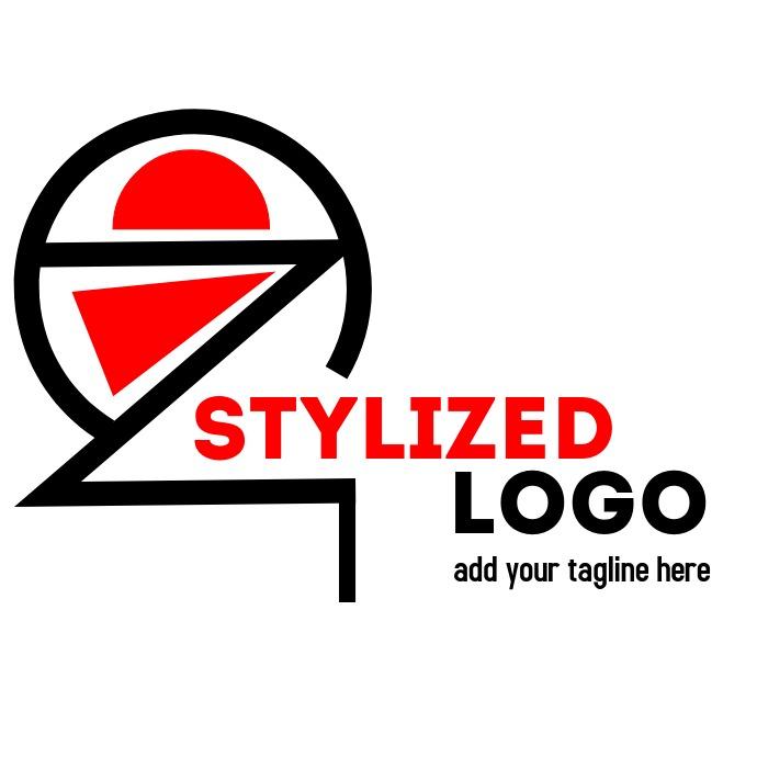 minimal stylized globe logo icon
